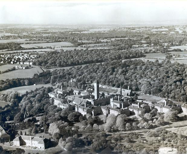 Aerial-View Warlingham Park Hospital