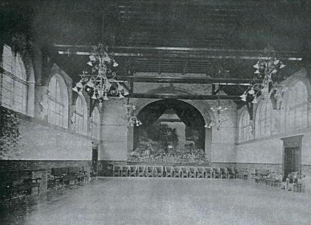 Warlingham Park Hopsital main hall